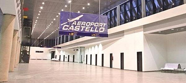 Imagen del aeropuerto de Castellón. / EFE