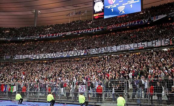 aficionados PSG
