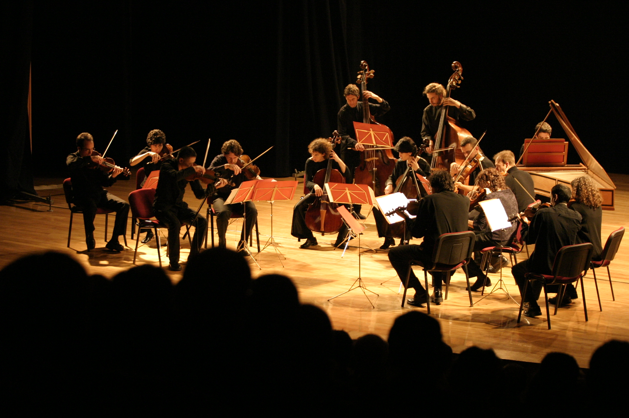 La Orquesta Barroca de Sevilla en una imagen de archivo. / Pepo Herrera