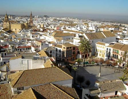 Vista del casco histórico de la ciudad de Carmona. / El Correo