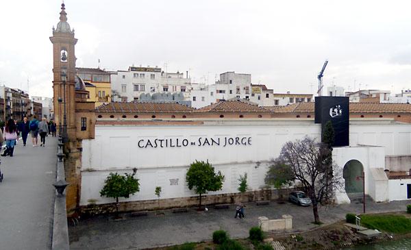 Castillo de San Jorge. / El Correo