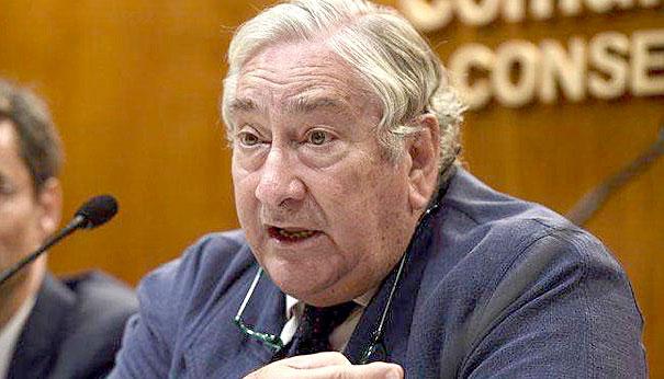 El ya exconsejero de Sanidad de la Comunidad de Madrid, Javier Rodríguez. / EFE