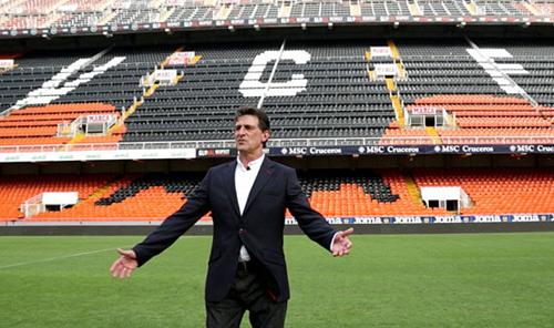 Mario Alberto Kempes, Embajador Internacional del Valencia CF. Foto: VCF