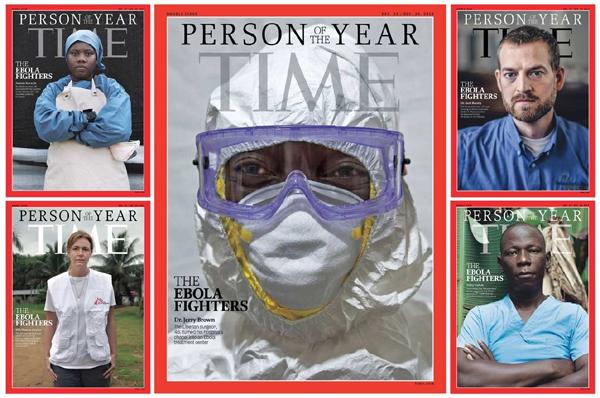 """Los """"luchadores"""" contra el ébola, personaje del año para 'Time'"""