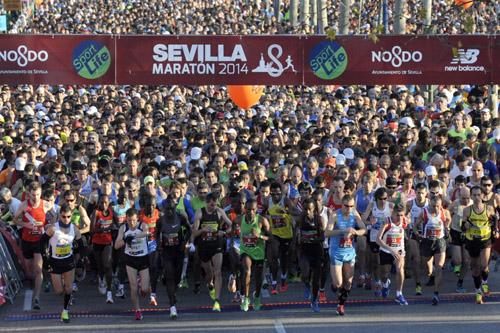 Salida de la maratón del año pasado. / EDD