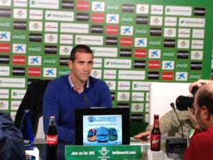 Juan Merino, en sala de prensa (Foto: Dani Fernández)
