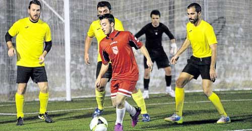 Sevilla 11/12/2014 Torneo La MotillaEquipo amarillo: Elcano FCEquip
