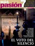 Portada del número 86 de la revista Más Pasión, dedicada a 'El voto del Silencio'.