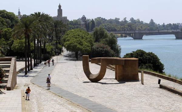 Monumento de Chillida en Marqués de Contadero