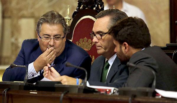 Pleno del ayuntamiento de Sevilla. / José Luis Montero