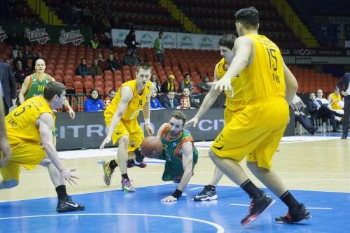 Sevilla 07/01/2015 Baloncesto. CB Sevilla-T.OstendeFOTO: Pepo Herrera