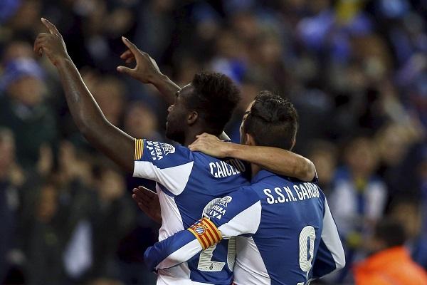 Caicedo y Sergio García (EFE)