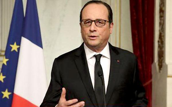 El presidente francés, François Hollande. / EFE