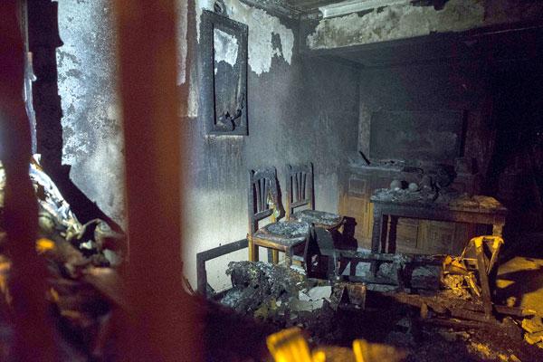 Interior de la vivienda. / J.M.Paisano