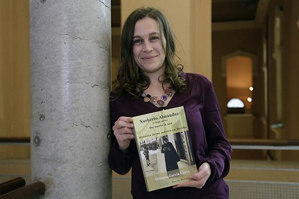 La musicóloga Olimpia García, autora del estudio sobre este compositor olvidado. / José Luis Montero