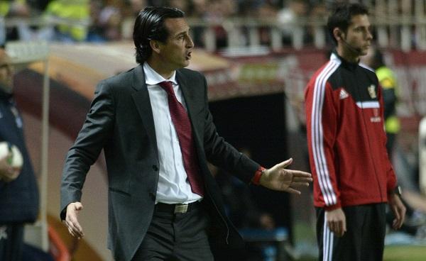 Emery, frente al Espanyol (Foto: Manuel Gómez)