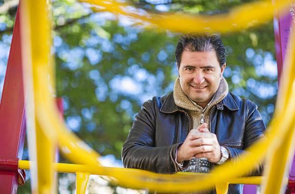 José Luis Bustos Jiménez, CEO de la empresa tecnológica Brioagro Tech, de Mairena del Alcor. / CARLOS HERNÁNDEZ