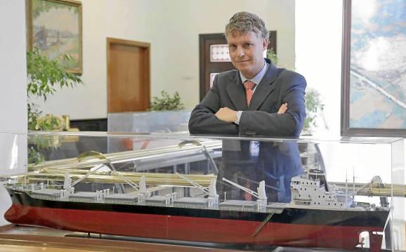 Ángel Pulido, director del Puerto. / José Luis Montero