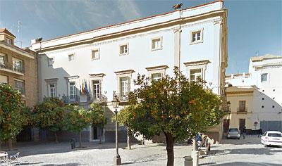 Sede de la Cámara de Comercio de Sevilla.