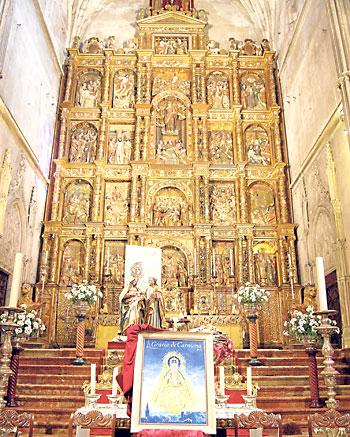 Retablo de la iglesia de Santa María.