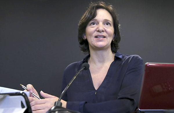 La secretaria de Análisis Político y Social de Podemos, Carolina Bescansa. / EFE
