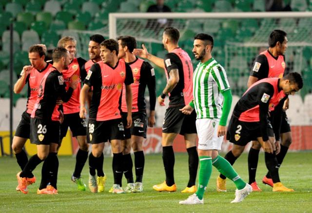 Chuli, en el partido de Copa contra el Almería en el Villamarín / Manuel Gómez