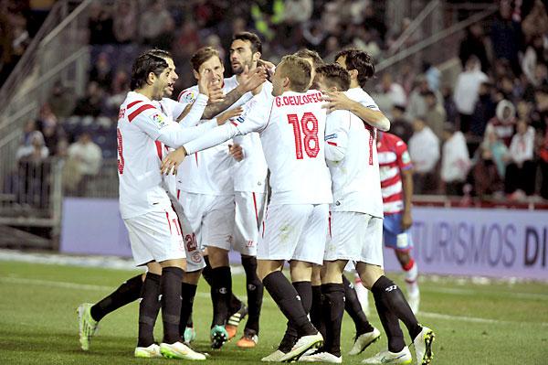 Granada CF - Sevilla FC. / Foto: EFE