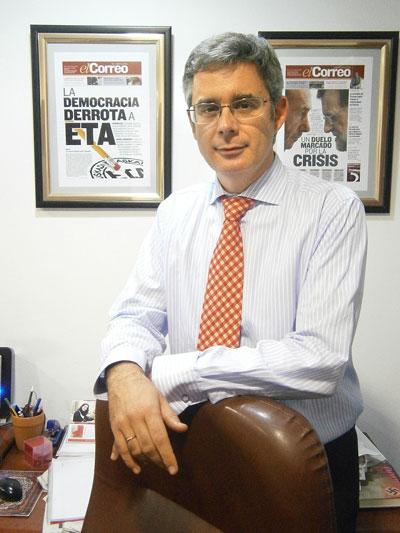 Juan Carlos Blanco. / El Correo
