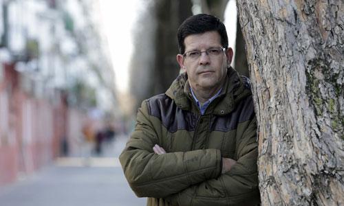 Juan Santos es enfermo de Hepatitis C desde 1995. / José Luis Montero