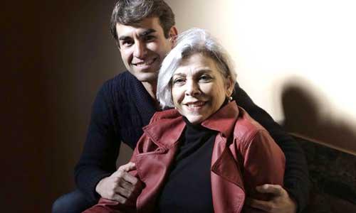 Mánver y Muriel, ayer en el Teatro Lope de Vega. Foto: José Luis Montero