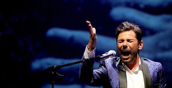 El cantaor Miguel Poveda. / EFE