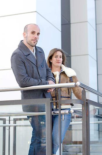 Héctor Neri y Yolanda Castro, socios fundadores de Misterbrico. / Jesús Barrera