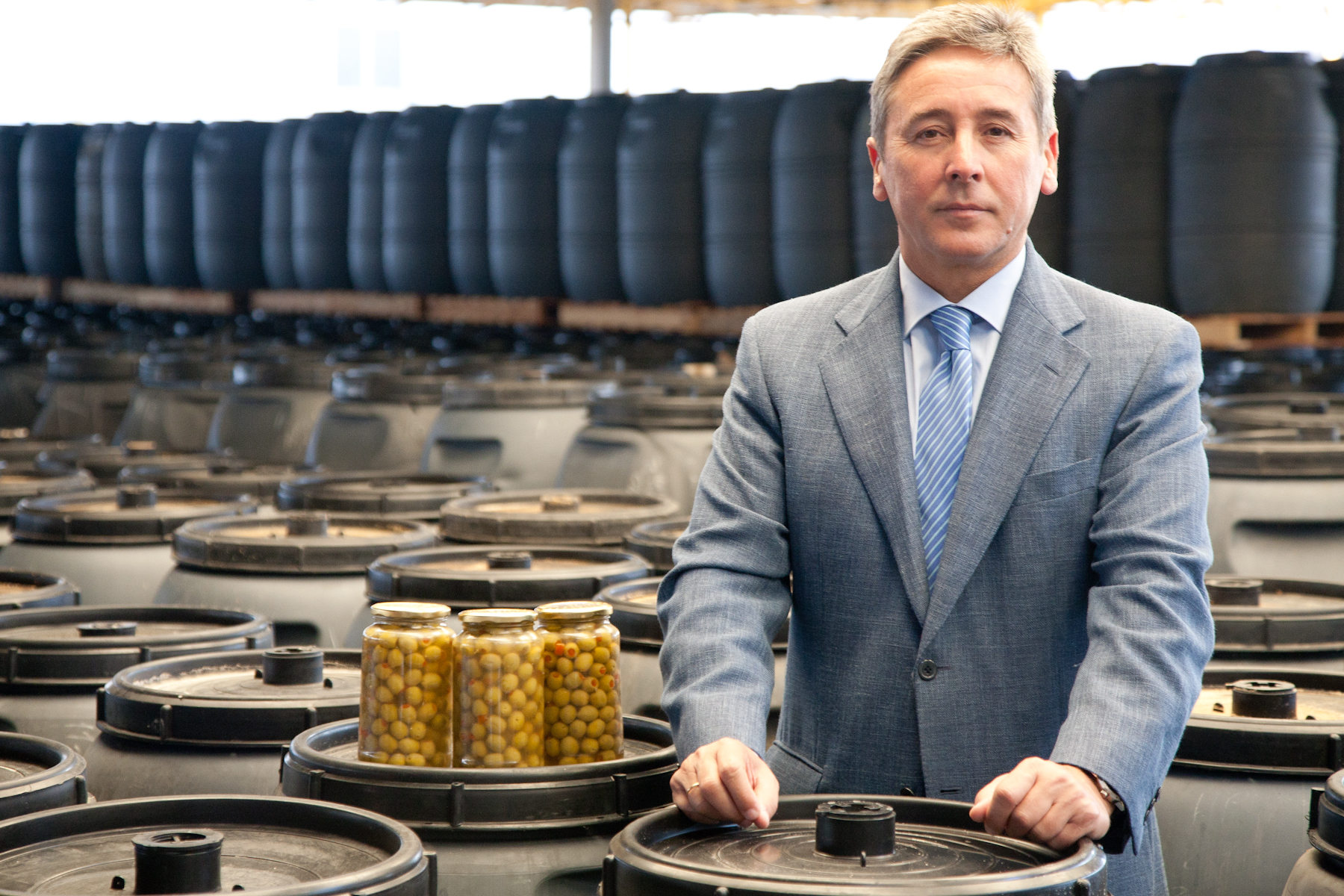 Antonio de Mora lleva 22 años al mando de la organización nacional de industriales Asemesa, cuya se de radica en Sevilla. / ASEMESA