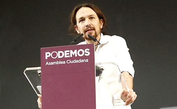 El secretario general de Podemos, Pablo Iglesias. / E.P.