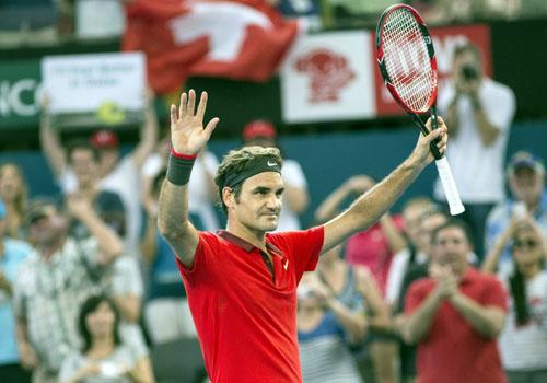 El tenista Roger Federer. / EFE
