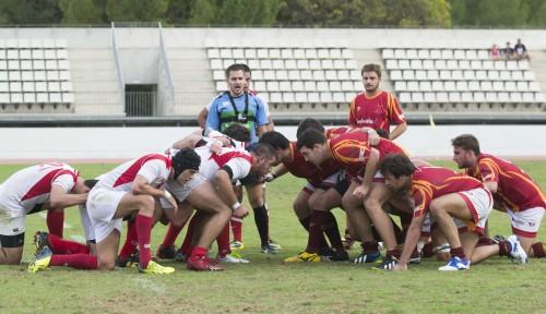 partido helvetia rugby (cartuja) 04/10/14FOTO INMA FLORES