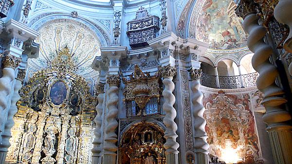 Interior de la Iglesia de San Luis de los Franceses. / El Correo