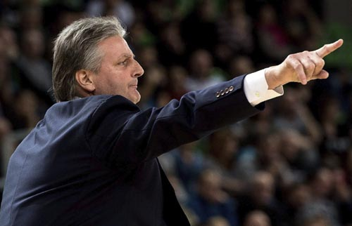 Scott Roth, entrenador del Baloncesto Sevilla. Foto: EFE