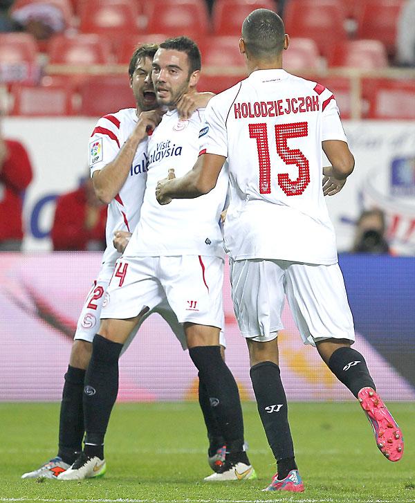Sevilla FC - Granada CF. / Foto: EFE