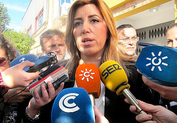 La presidenta de la Junta, Susana Díaz. / E.P.