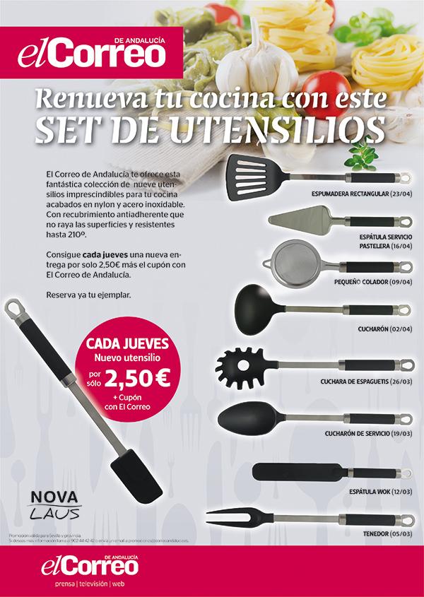 10x5 utensilios cocina gen