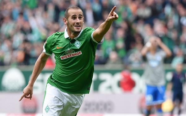 Alejandro Gálvez, jugador del Werder Bremen.