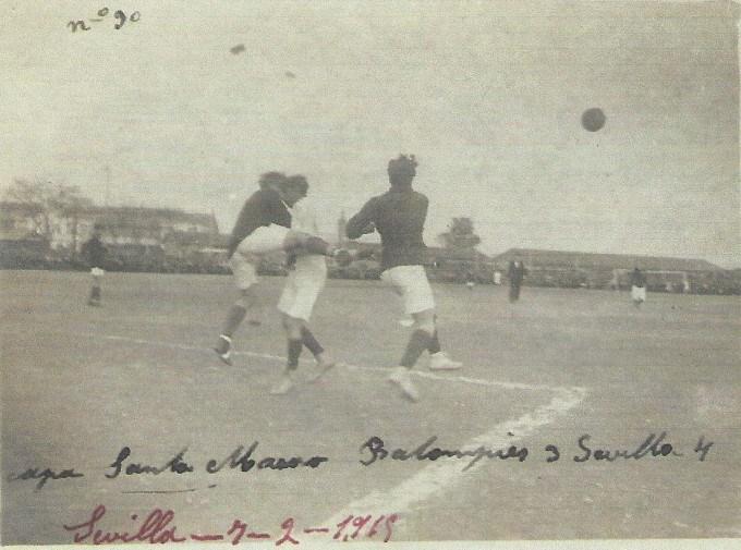 Copa Santo Mauro 1915 Sevilla Bpe - Sevilla FG 3-4