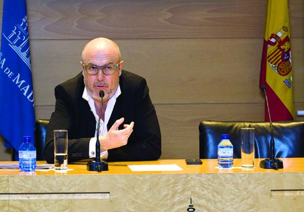 Manuel García-Durán, presidente ejecutivo de la compañía tecnológica Ezentis. / El Correo