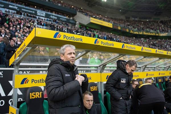 Lucien Favre, entrenador del Gladbach.