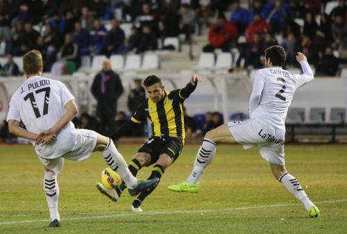 Una imagen del Albacete-Betis./ Juanjo Valverde