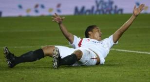 El jugador del Sevilla FC Carlos Bacca. / Manuel Gómez.
