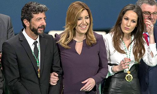 SUSANA DÍAZ ENTREGA MEDALLAS DIA DE ANDALUCÍA