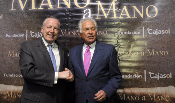 José María Álvarez del Manzano y Palomo Linares. / Manuel Gómez