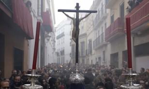 Viacrucis del Cristo de la Humildad y la Paciencia a la Catedral. / José Luis Montero